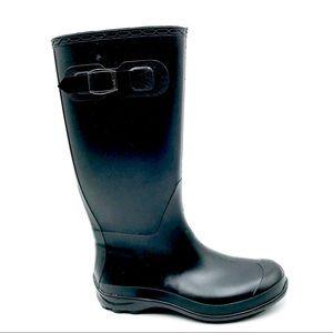 Kamik Black Rubber Winter Rain Boots, Size 8, EUC
